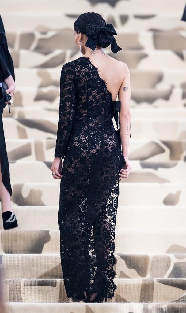 Zoë Kravitz Saint Laurent Met Gala Dress 2018 | POPSUGAR Fashion