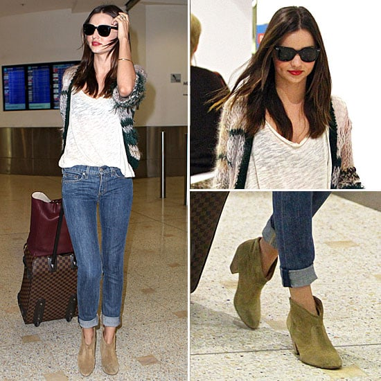 Miranda Kerr at Sydney Airport December 21, 2011