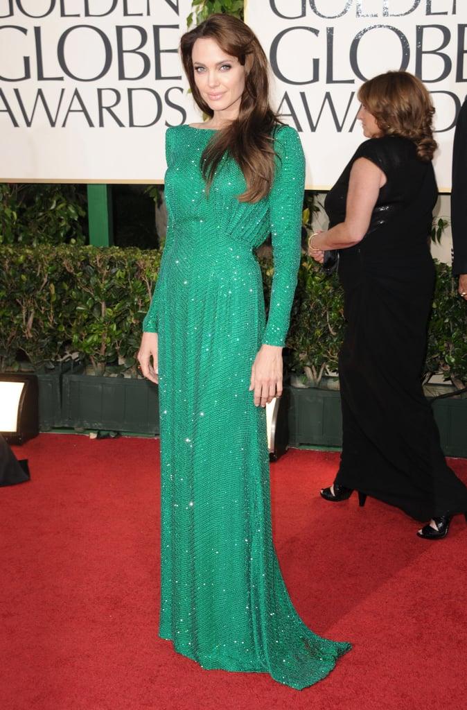 Angelina Jolie at the 2011 Golden Globe Awards