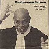 This one is for the men. Vidal Sassoon's hair products were discontinued for a while, but now they are back in stores again.  Source: Flickr user jbcurio