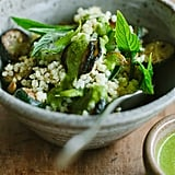 Vegan: Zucchini, Mint, and Millet Salad With Cilantro Dressing