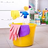 Keep Cleaning Supplies Nearby