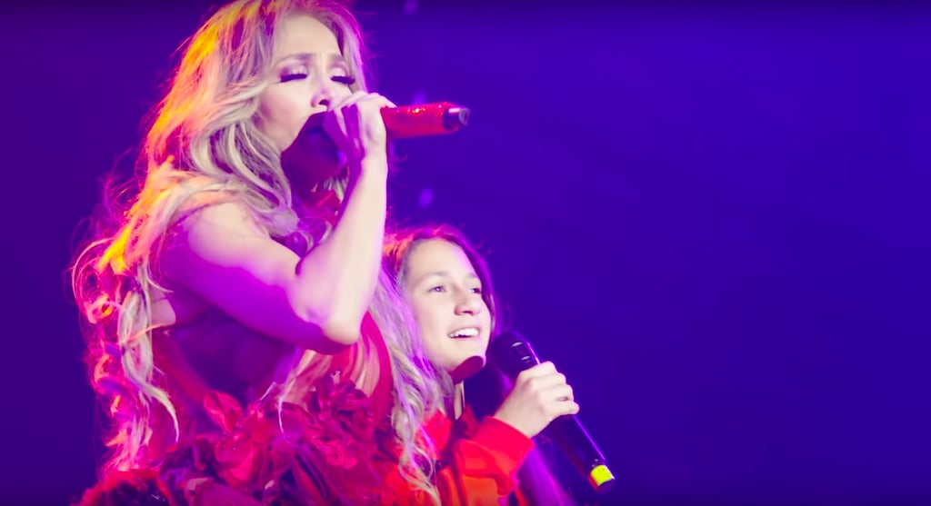 Videos of Jennifer Lopez's Daughter Emme Singing