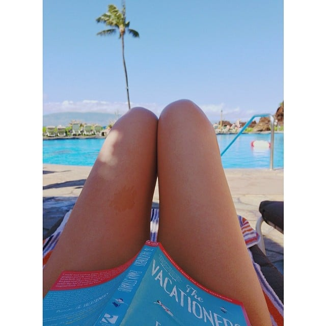 """""""Emma Straub's The Vacationers is perfect for poolside reading."""""""