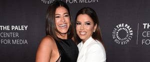 Gina Rodriguez and Eva Longoria Had a Love-Filled Reunion on the Red Carpet