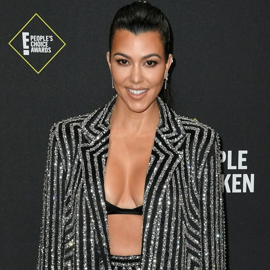 Kourtney Kardashian's Levitating Trapeze Table Workout Video