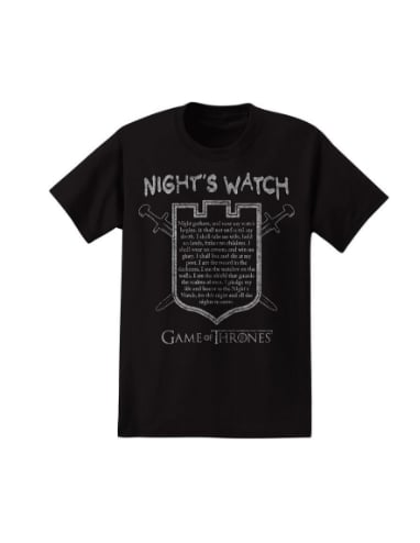 Night's Watch Tee ($20)