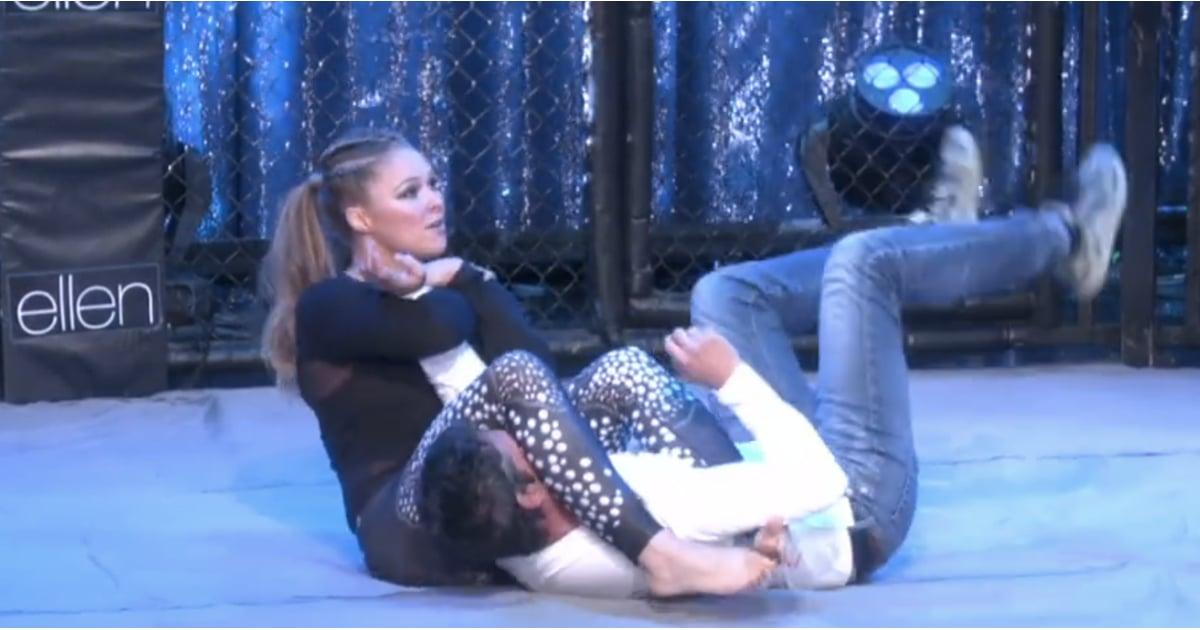 Ronda Rousey On Ellen Popsugar Fitness Australia