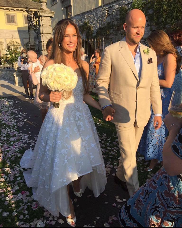 Spotify Founder Daniel Ek's Bride's Wedding Dress