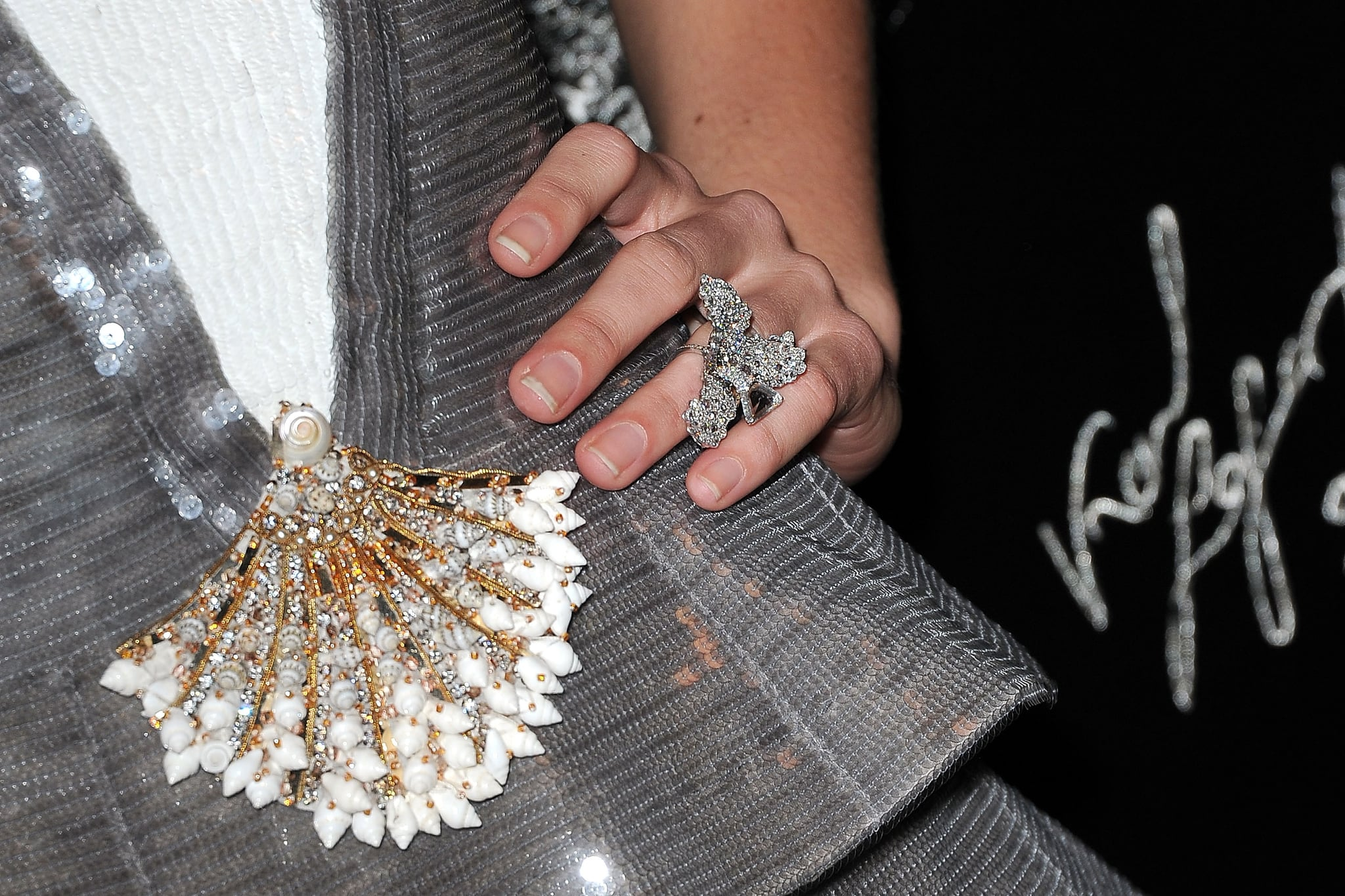 Check out Blake's gorgeous bling!