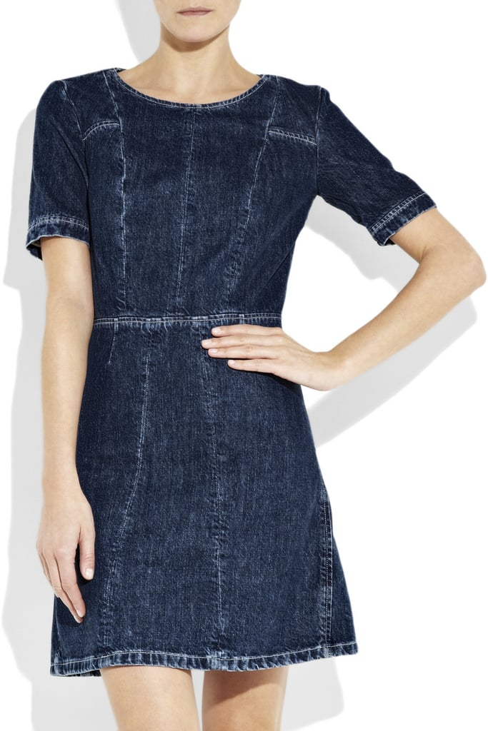 A sweet vintage fit in a a dark denim wash. Chloé Vintage-style Denim Dress, $625