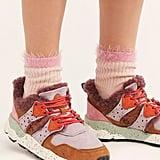 Whisper Border Socks