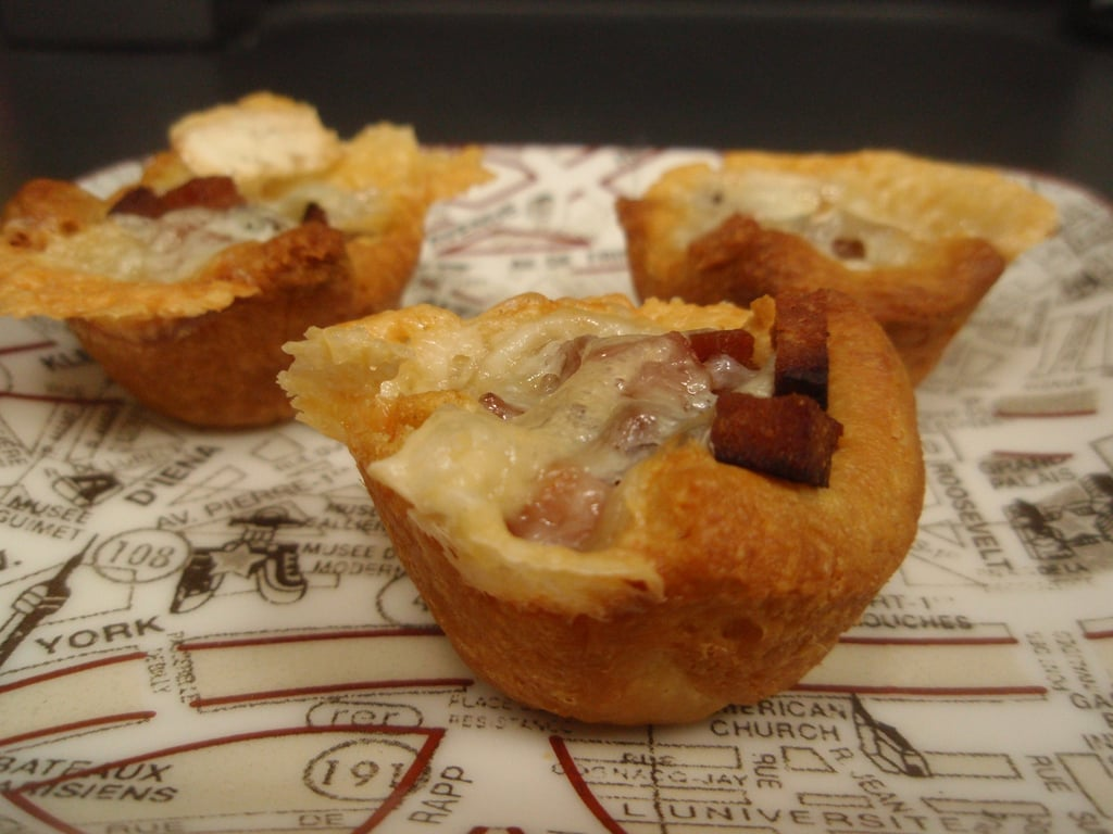 Spam and Cheese Tarts