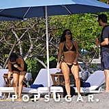Kourtney Kardashian and Scott Disick in Costa Rica June 2019