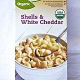 Organic Shells & White Cheddar ($1)