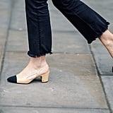 Low, Block Heels