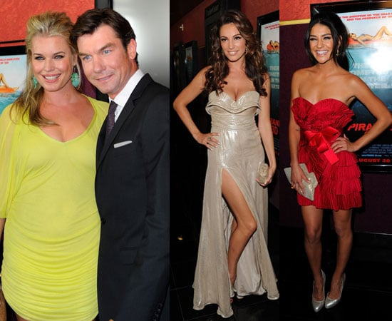 Piranha 3D Premiere Inc Kelly Brook's Naked Month, Jessica Szohr, Riley Steele, Rebecca Romijn, Jerry O'Connell