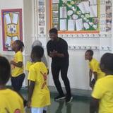 John Boyega Surprises Children With