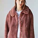 UO Oversized Faux Fur Coat