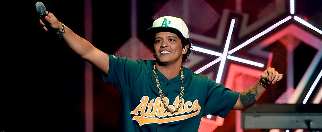 Power Your Cardio Session With This Epic Bruno Mars Playlist