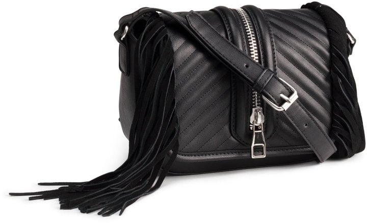 H&M Shoulder Bag With Fringe ($40)