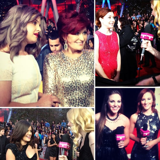Red Carpet and Backstage People's Choice Awards Pictures
