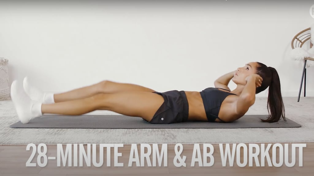 4-Week No-Equipment Workout Plan Weeks 2 and 4: Arms and Abs