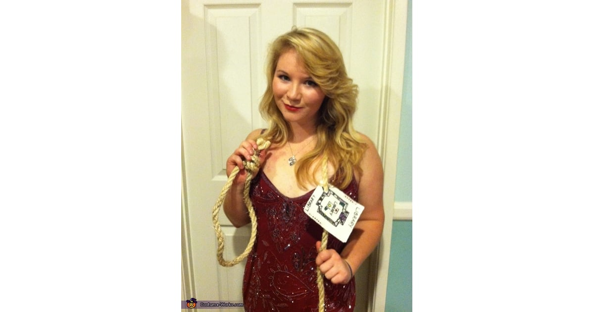 Miss Scarlet In The Library With The Rope Clue | Funny Halloween Costumes | POPSUGAR Love U0026 Sex Photo 29 Sc 1 St Popsugar  sc 1 st  Germanpascual.Com & Miss Scarlet Clue Halloween Costume u0026 ... Meanu2026her Husband Was A ...
