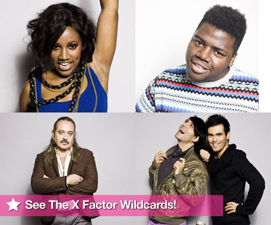 Pictures of The X Factor Wildcards Treyc, Paije, Wagner and Diva Fever