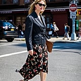 Pull the Styling Trick at Work When You Finish With a Structured Blazer and Mules