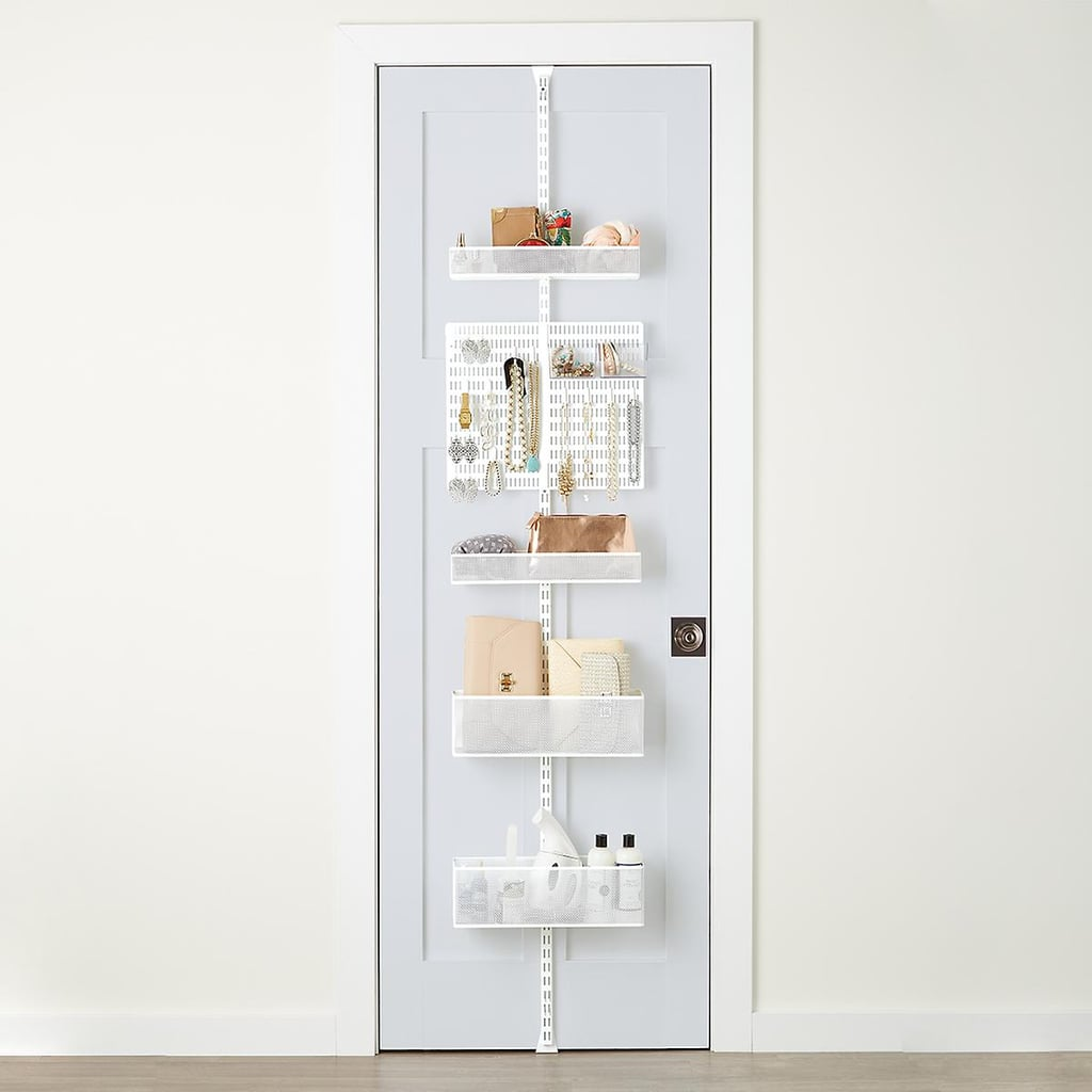 Mesh Closet Door and Wall Rack