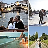 "Location, Location, Location: 42 ""I Do"" Destinations  If you want to add some excitement to your wedding, then all you have to do is make it a destination. Your globetrotting guests will get a double whammy with a faraway big day — a wedding and a vacation — and there's less pressure to go all out with decorations when what makes the event special is the location. But where to go? You could pick a spot that's sentimental to you and your future spouse, a place that honors your heritage, or just a locale you've always wanted to visit. If you need some inspiration, then check out these beautiful weddings set everywhere from Palm Springs to Provence."