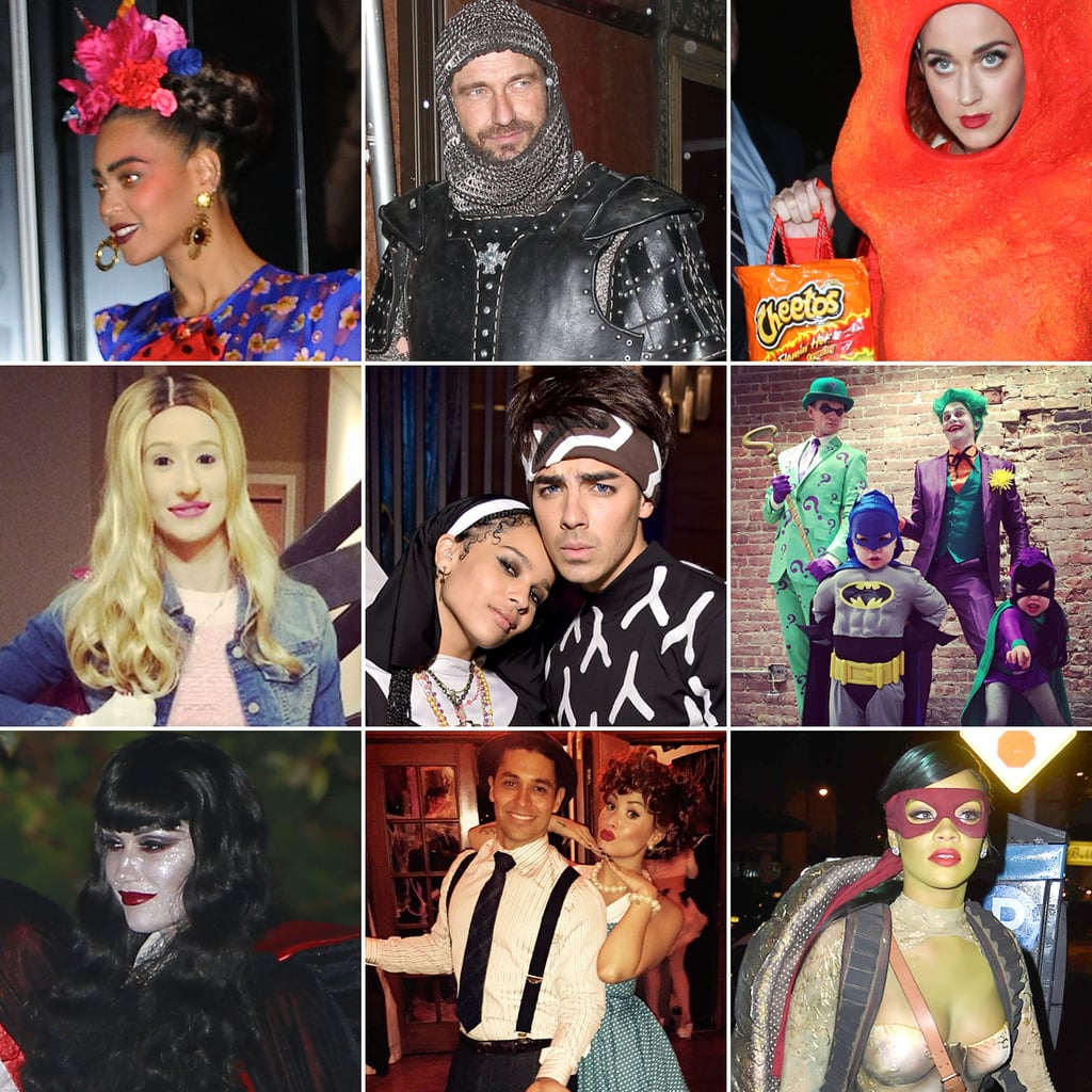 celebrities wearing halloween costumes 2014 pictures popsugar celebrity - Celeb Halloween Costume