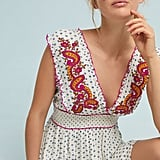 Anthropologie Maggie Embroidered Dress