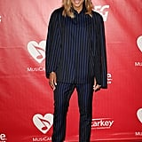 Ciara brought her baby bump to the red carpet at the 2014 MusiCares Person of the Year event.