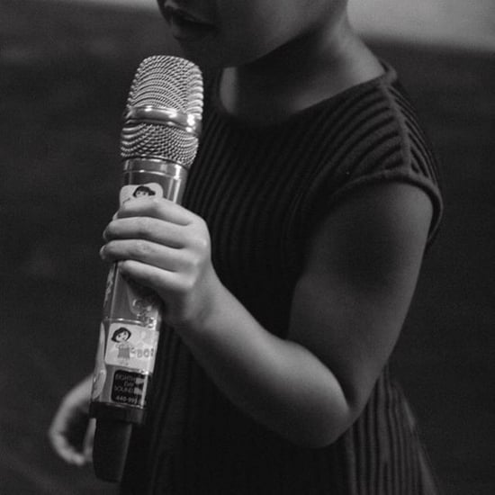 Blue Ivy on Stage Pictures September 2015