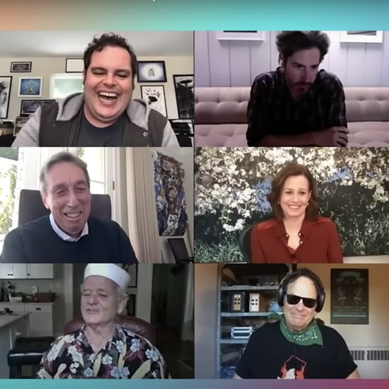 Watch the Ghostbusters Cast Reunion With Josh Gad