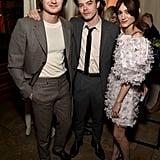 Joe Keery, Charlie Heaton, and Natalia Dyer at EW's 2020 SAG Awards Preparty