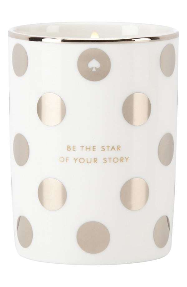 """Be the Star of Your Story"" Kate Spade Candle ($40)"
