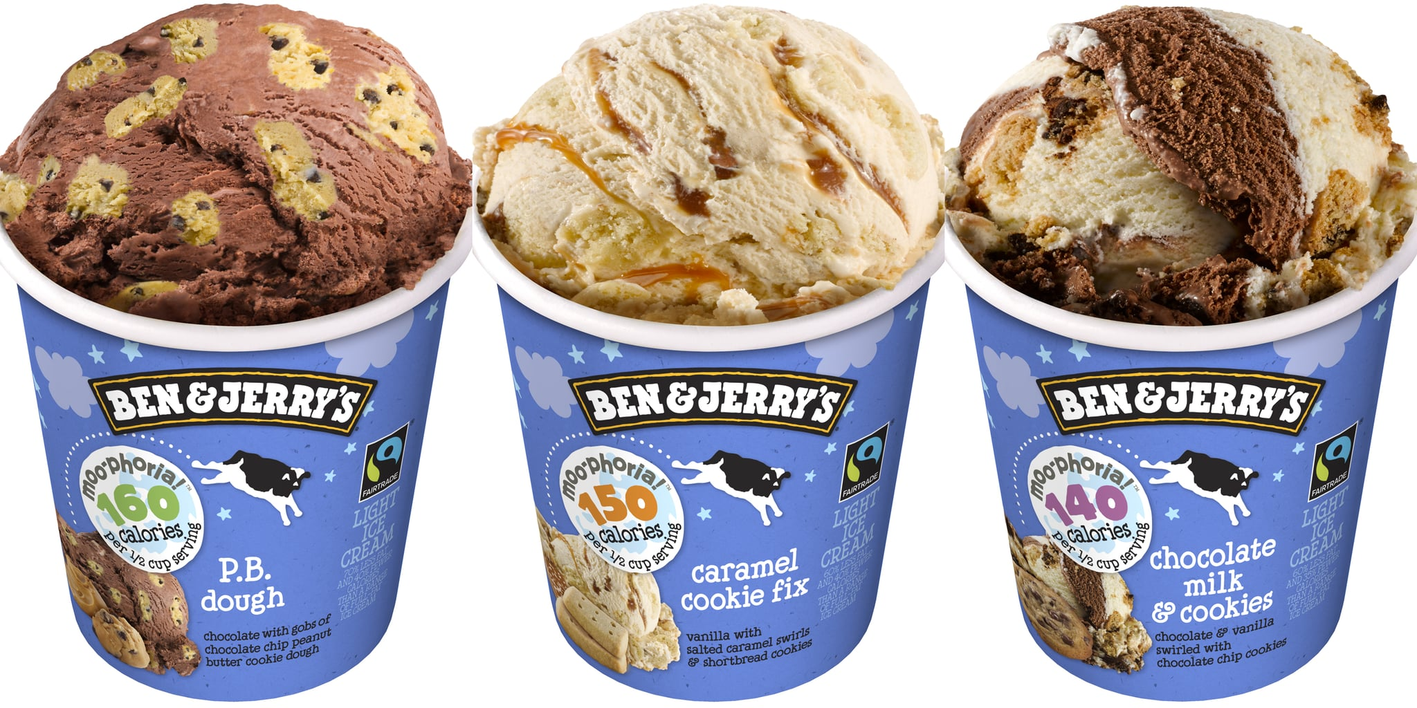 Ben & Jerry's Moo-phoria: A Line of Healther-For-You Ice Cream