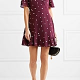 Madewell Printed Silk Mini Dress