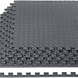 AmazonBasics Exercise Mat With EVA Foam Interlocking Tiles