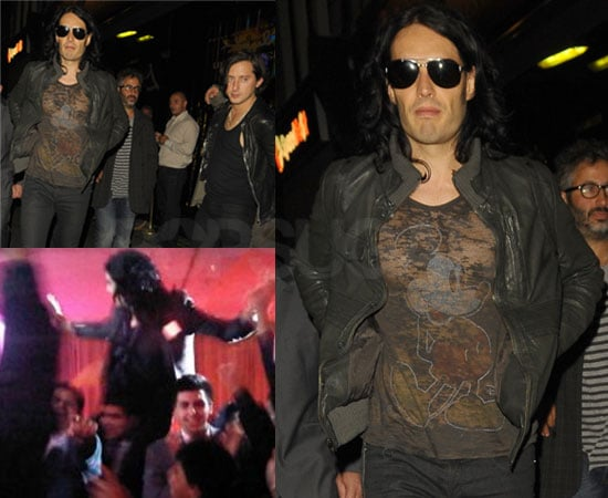 Pictures of Russell Brand's Stag Do