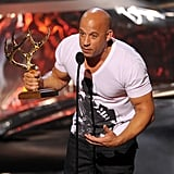 Vin Diesel hit the stage to accept an award at the Guys Choice Awards.