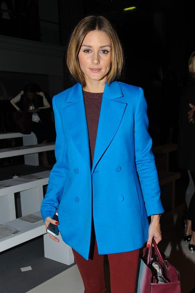 Olivia Palermo at Anya Hindmarch