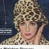 Tabloid Covers of Elizabeth Taylor, Eddie Fisher, and Richard Burton 1950s and 1960s