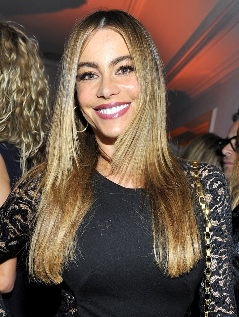 Sofia Vergara in Purple Lipstick Trend | POPSUGAR Beauty