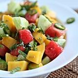 Mango, Cucumber, and Watermelon Salad