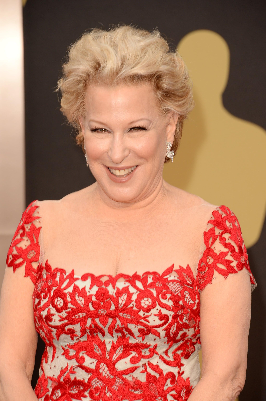 Bette Midler at 2014 Oscars