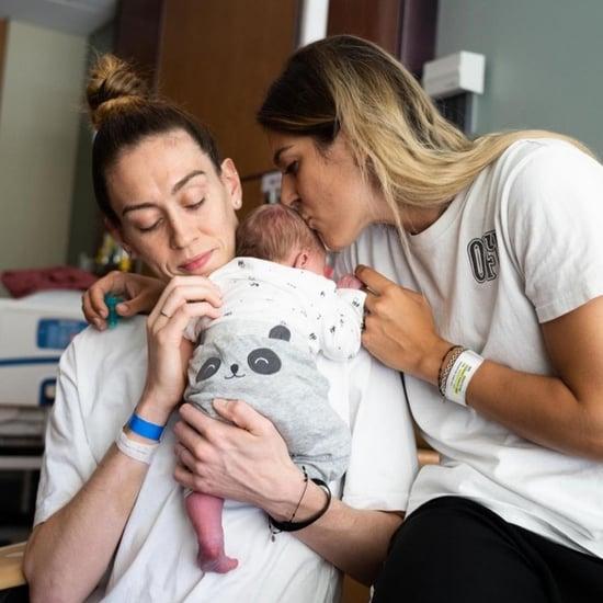Breanna Stewart and Marta Xargay Welcome First Baby